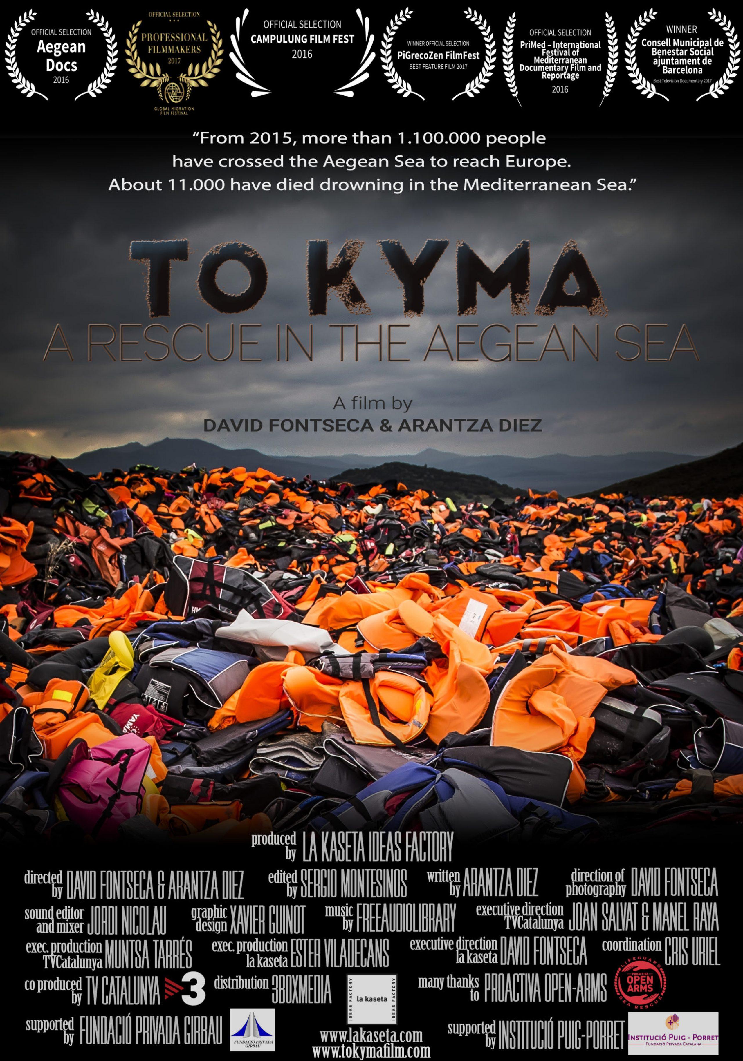 TO KYMA. A RESCUE IN THE AEGEAN SEA